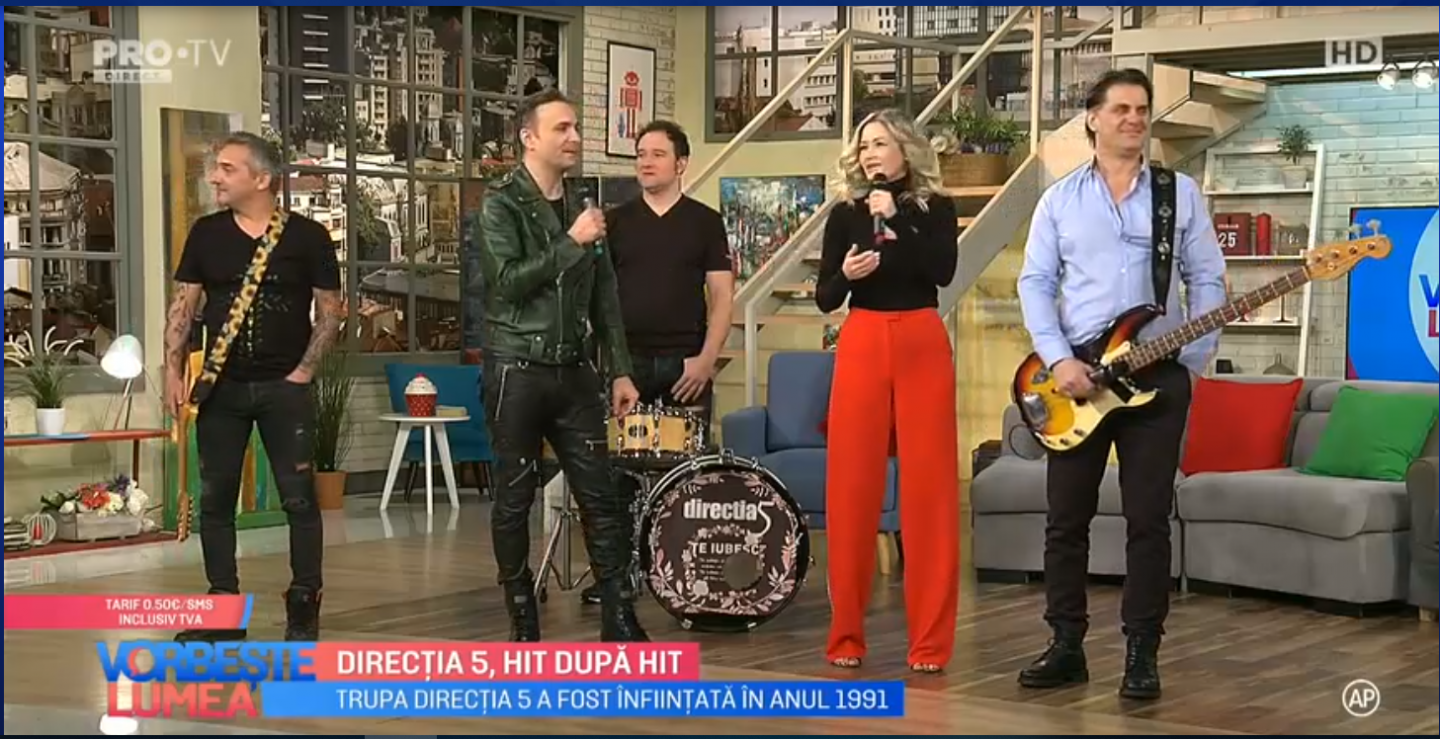 VIDEO Direcția 5, hit după hit
