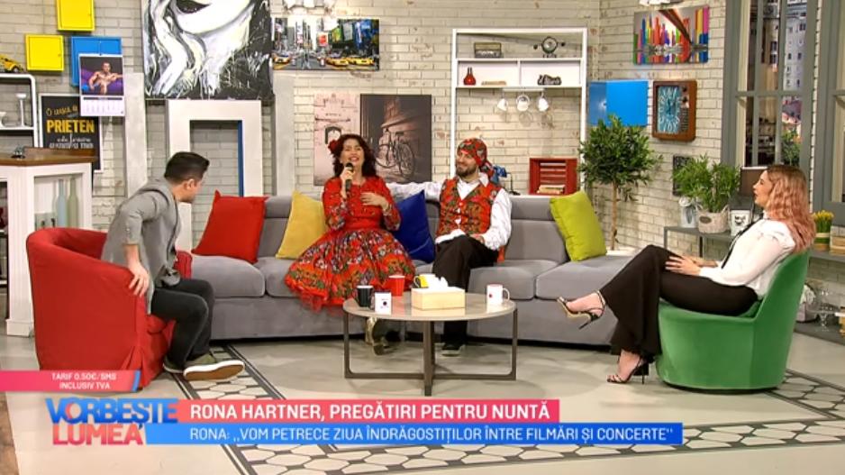 VIDEO Rona Hartner și logodnicul ei francez se bucură de săptămâna iubirii