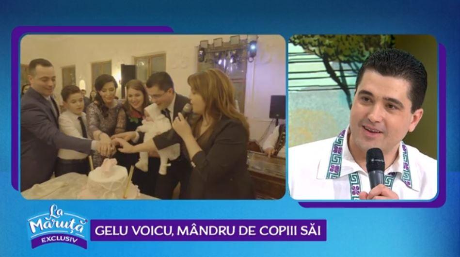 VIDEO Interpretul de muzică populară Gelu Voicu și-a botezat fetița. Cum a decurs evenimentul