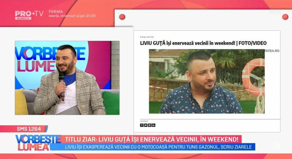 VIDEO Liviu Guță comentează zvonurile din presă. Ce are de spus artistul