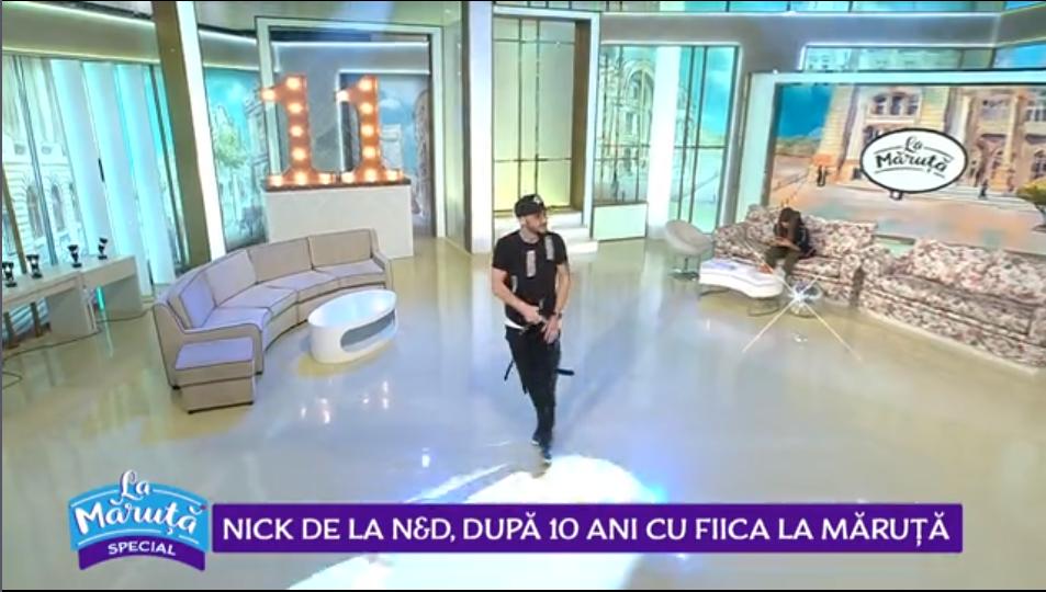 """Nick de la N&D, după 10 ani cu fiica """"La Măruță"""""""