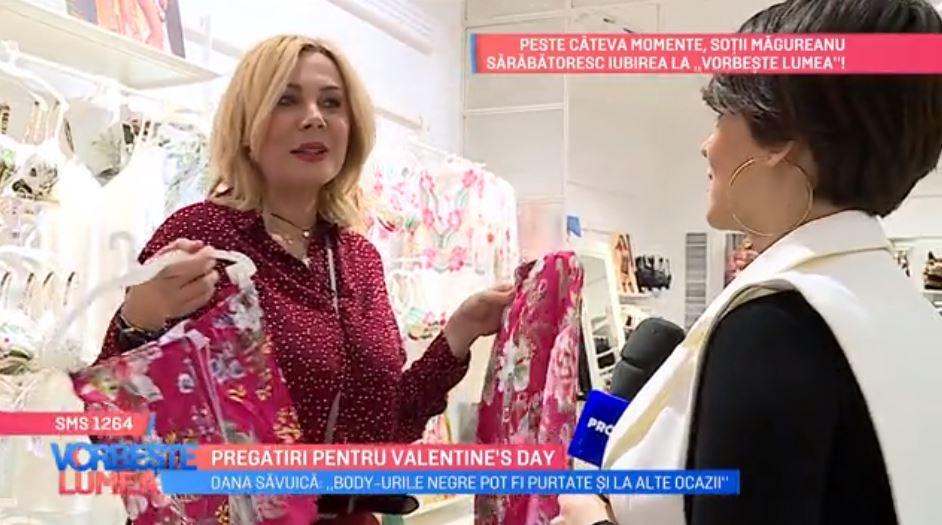 VIDEO Dana Săvuică te învață cum să-ți alegi lenjeria intimă perfectă pentru Valentine's Day