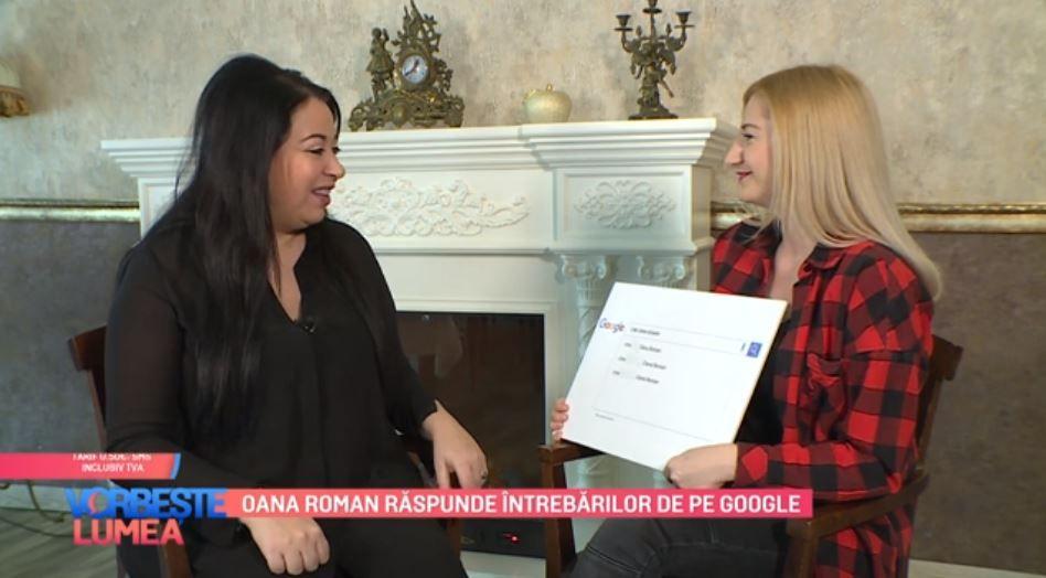 VIDEO Oana Roman răspunde întrebărilor de pe Google. Ce curiozități au avut internauții