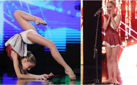Bianca Badea GOLDEN BUZZ. Ce spune micuța balerină despre croitoreasa de la Românii au talent