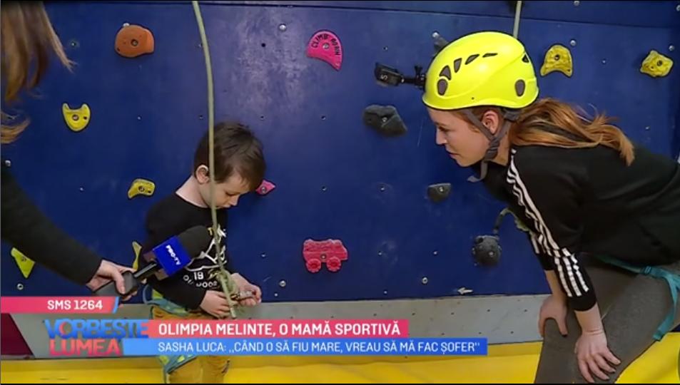 VIDEO Olimpia Melinte, o mamă sportivă