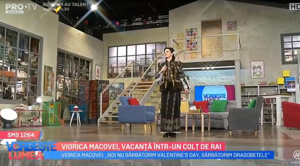 VIDEO Viorica Macovei, vacanță într-un colțde rai