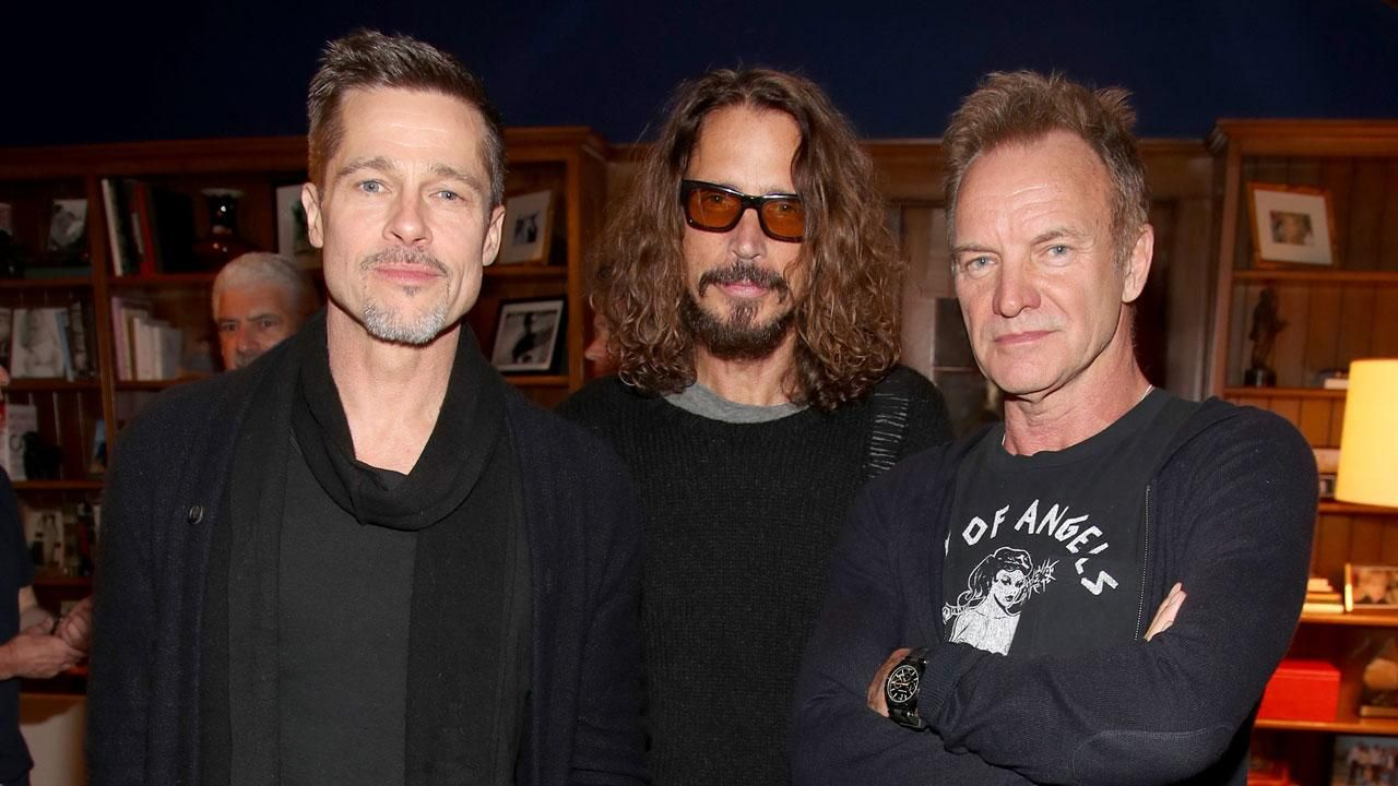 Brad Pitt va produce un documentar despre Chris Cornell