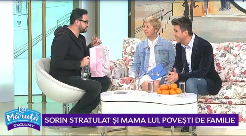 VIDEO Sorin Stratulat și mama lui, povești de familie