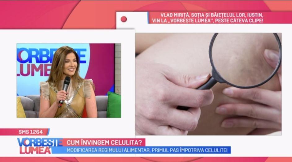 VIDEO Cum învingem celulita. Oana Cuzino ne oferă toate detaliile despre acest subiect