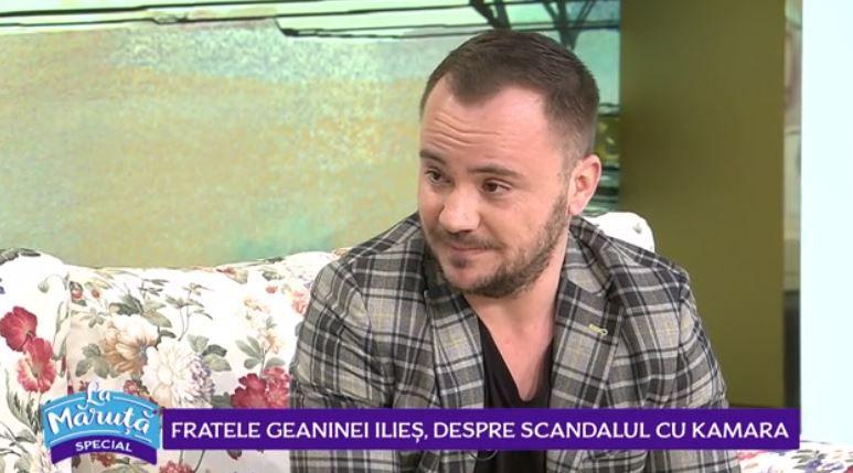 VIDEO Fratele Geaninei Ilieș, despre scandalul cu Kamara