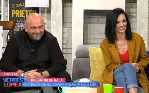 VIDEO Pregătiri de gală alături de Alin Gălățescu, Cosmina Păsărin și Magda Coman