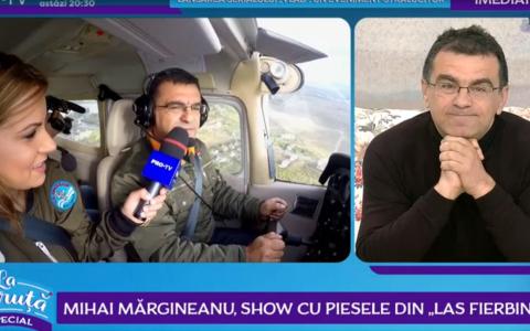 Mihai Mărgineanu, show cu piesele din  Las Fierbinți