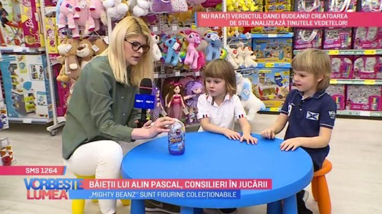 VIDEO Băieții lui Alin Pascal, consilieri în jucării