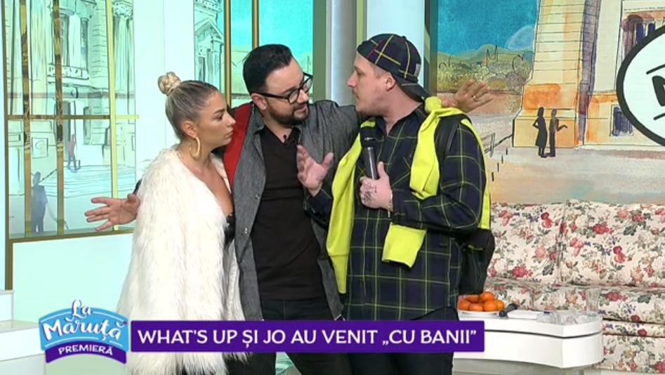 "VIDEO What's Up si Jo au venit ""cu banii"""