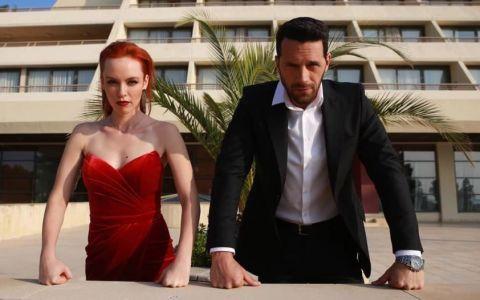 Olimpia Melinte și Adi Nartea, despre scenele de dragoste din superproducția  VLAD
