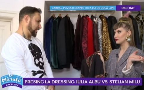 VIDEO Presing la dressing: Iulia Albu vs Stelian Milu