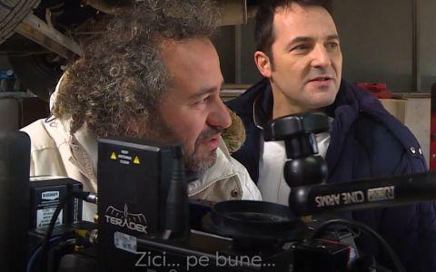 Imagini exclusive din culisele serialului VLAD.   Cred că am descoperit cu toții un nou București