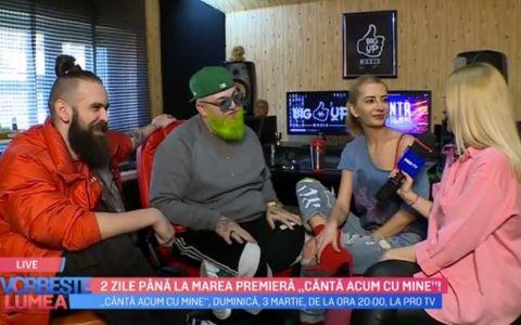 VIDEO Boier Bibescu, Dj Harra și Silviu Pașca, despre show-ul Cântă acum cu mine