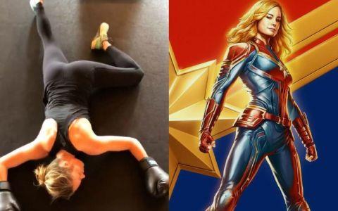 Cum s-a pregătit Brie Larson pentru rolul din  Captain Marvel . Acum poate să ridice greutăți de 100 de kg