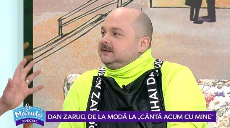 """VIDEO Dan Zarug, de la modă la """"Cântă acum cu mine"""""""