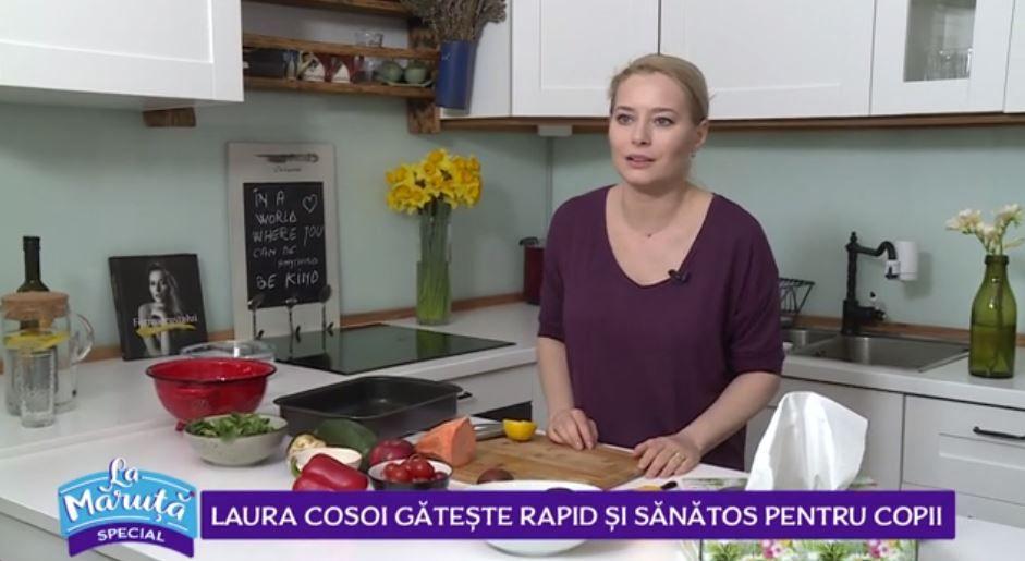 VIDEO Laura Cosoi îți recomandă o rețetă rapidă și sănătoasă pentru copii