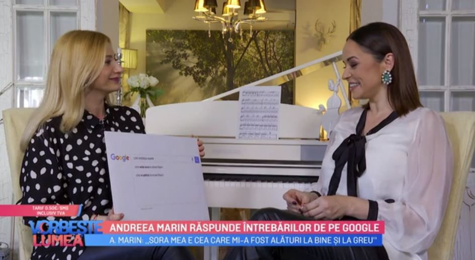 VIDEO Andreea Marin răspunde întrebărilor de pe Google. Ce curiozități au avut internauții