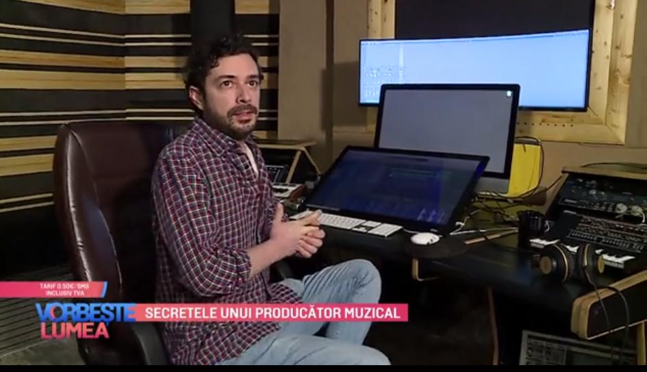 VIDEO Secretele profesionale ale lui Marius Moga ca și producător muzical