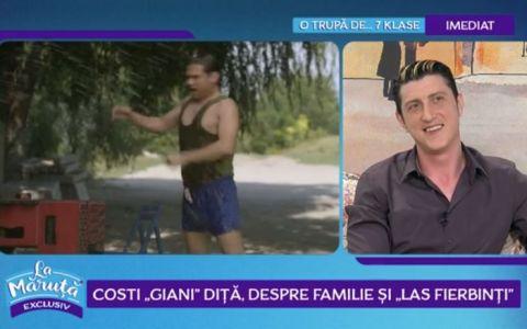 VIDEO Costi  Giani Diță , despre familie și  Las Fierbinți