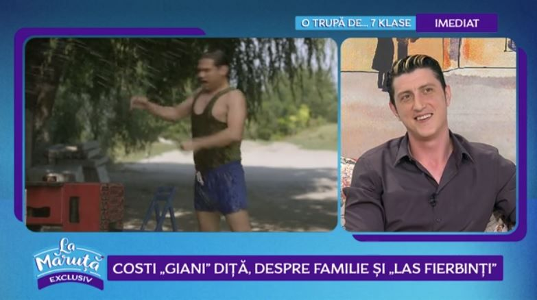 "VIDEO Costi ""Giani Diță"", despre familie și ""Las Fierbinți"""