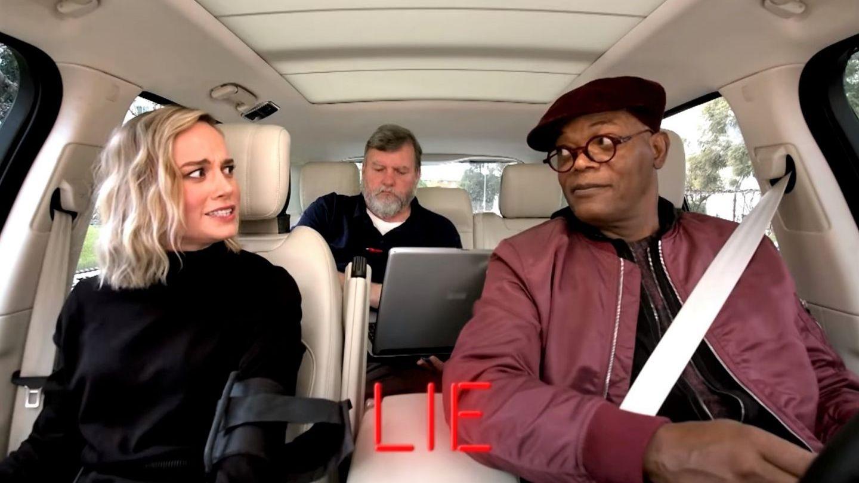 Brie Larson, prinsă cu minciuna de Samuel L Jackson înainte de lansarea filmului Captain Marvel