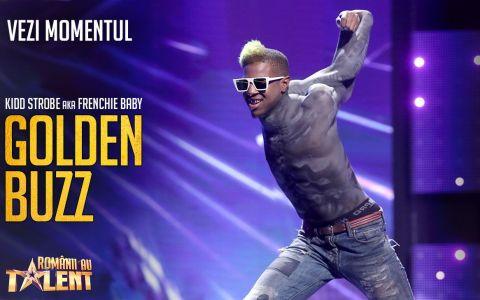 Al treilea Golden Buzz la Românii au talent, sezonul 9. Contorsionistul care l-a fermecat pe Andi Moisescu