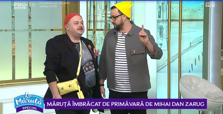 VIDEO Cătălin Măruță îmbrăcat de primăvară de Mihai Dan Zarug