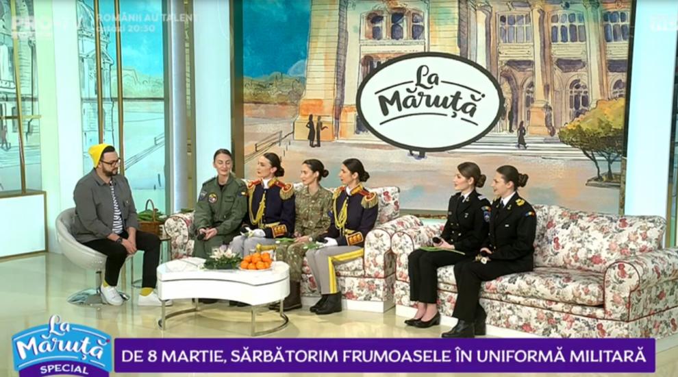 VIDEO De 8 martie, sărbătorim frumoasele în uniformă militară