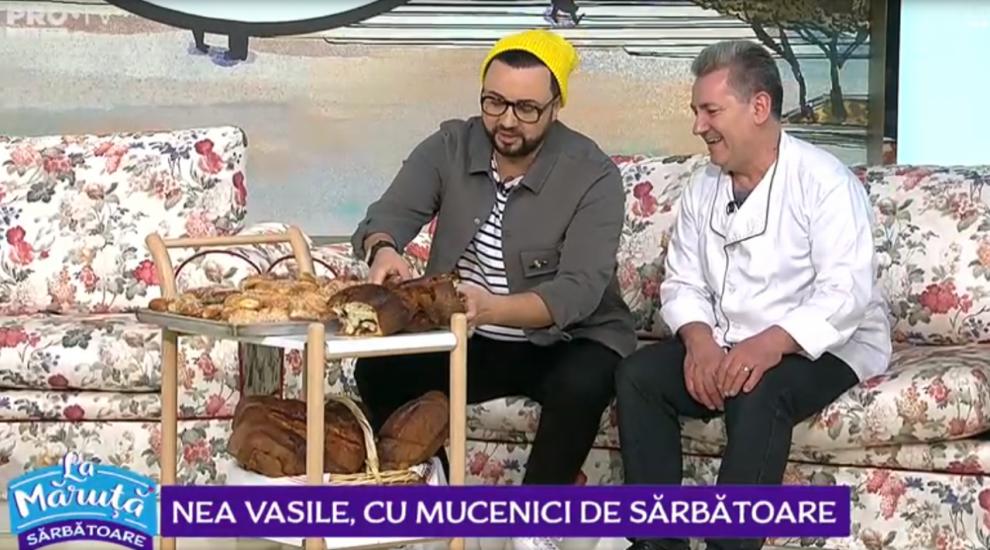VIDEO Nea Vasile, cu mucenici de sărbătoare
