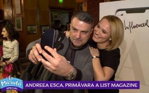 VIDEO Andreea Esca, primăvara A List Magazine