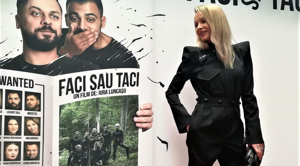 """Sandra Izbașa, despre primul film în care joacă: """"Am fost mereu o războinică"""""""