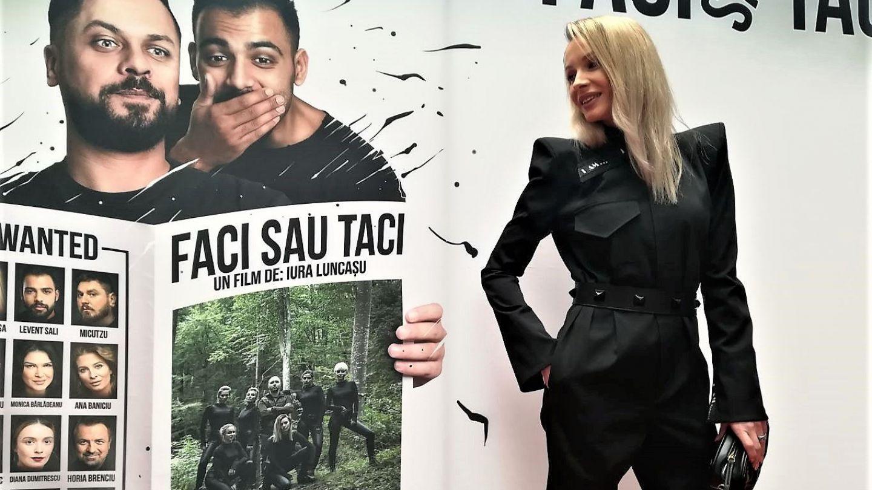 Sandra Izbașa, despre primul film în care joacă: bdquo;Am fost mereu o războinică