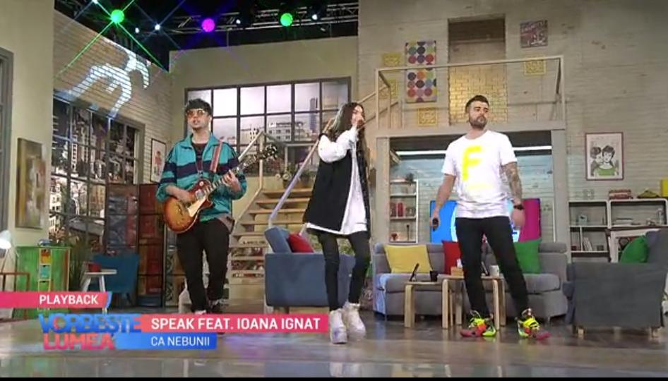 """VIDEO Speak și Ioana Ignat iubesc, """"ca nebunii""""!"""