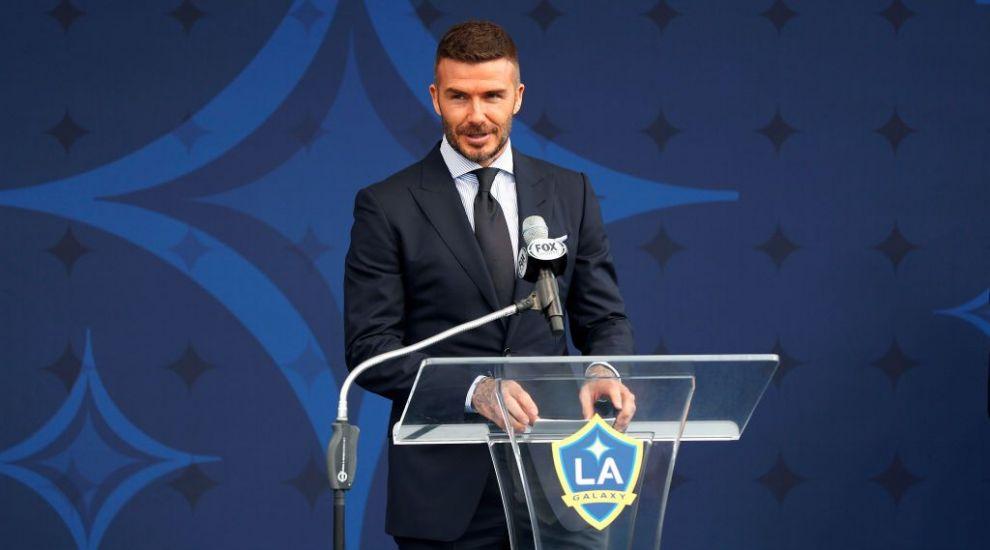 """David Beckham, farsă de coşmar. Beckham: """"Uită-te la mine, dacă mă văd copiii mei aşa, plâng"""""""
