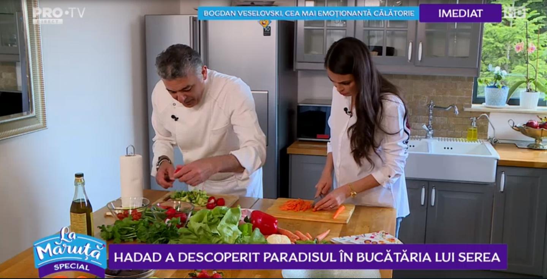 VIDEO Chef Hadad a descoperit paradisul în bucătăria lui Serea