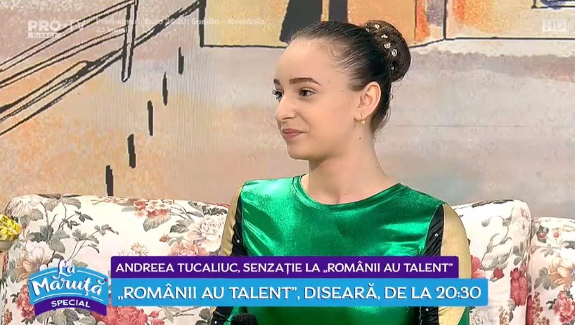 """VIDEO Andreea Tucaliuc, senzație la """"Romanii au talent"""""""
