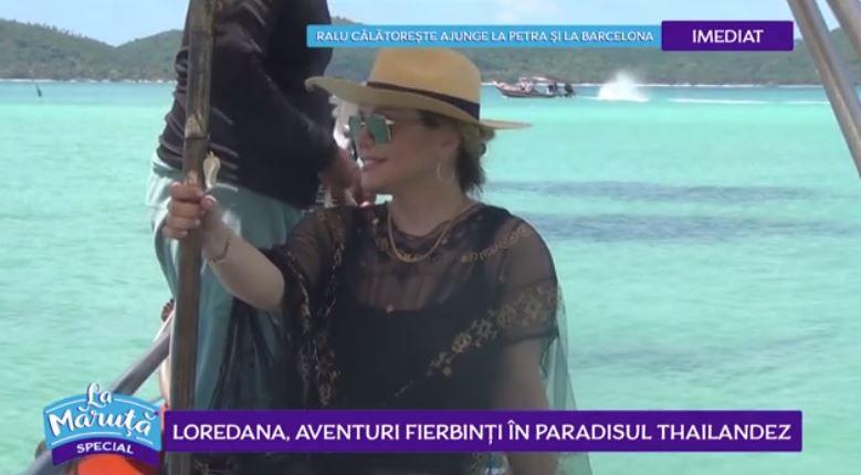 VIDEO Loredana, aventuri în paradisul thailandez