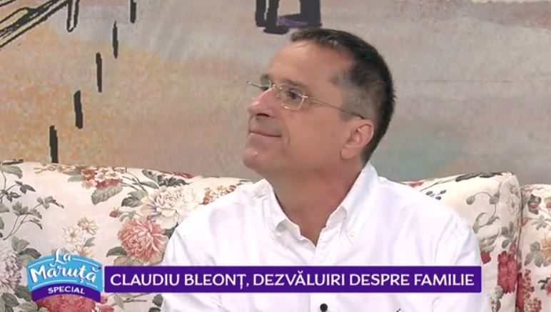 VIDEO Claudiu Bleonț, dezvăluiri despre familie