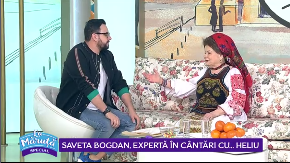 VIDEO Saveta Bogdan, expertă în cântări cu... heliu