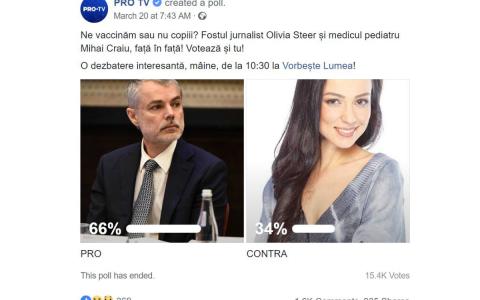 Ce reacții a stârnit pe net discuția din Olivia Steer și dr. Mihai Craiu:  Genială dezbaterea!