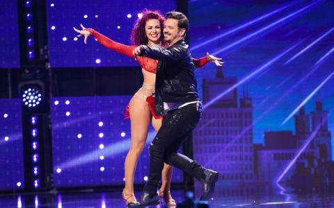 Simona Petric, dansatoarea de salsa care a încins scena  Românii au talent  alături de Mihai Petre