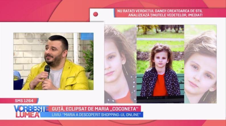 VIDEO Liviu Guță, eclipsat de fiica lui Maria