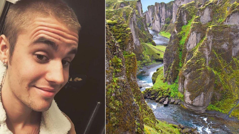 Justin Bieber, acuzat că a provocat un dezastru ecologic în Islanda