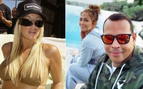 J Lo, probleme înainte de nuntă. Alex Rodriguez i-a trimis mesaje deocheate unui model Playboy