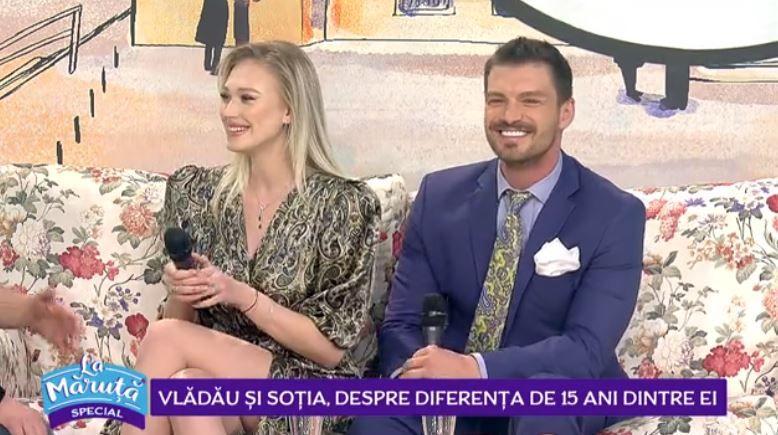VIDEO Bogdan Vlădău și soția, despre diferența de 15 ani dintre ei
